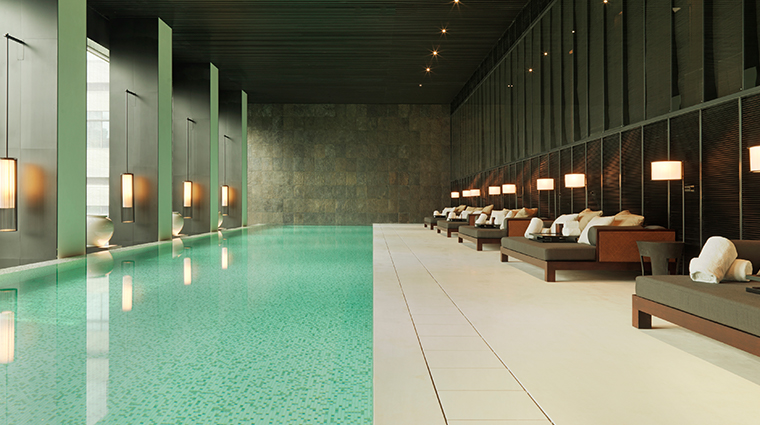 the puli hotel and spa swimming pool