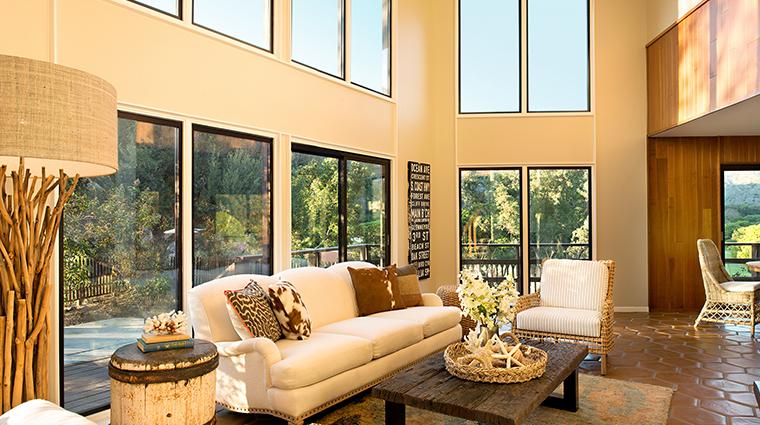 the ranch at laguna beach treehouse living room