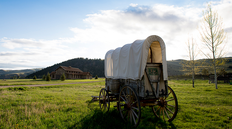 the ranch at rock creek wagon