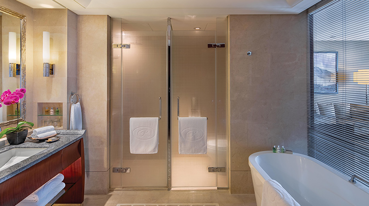 The Regent Beijing executive king bathroom