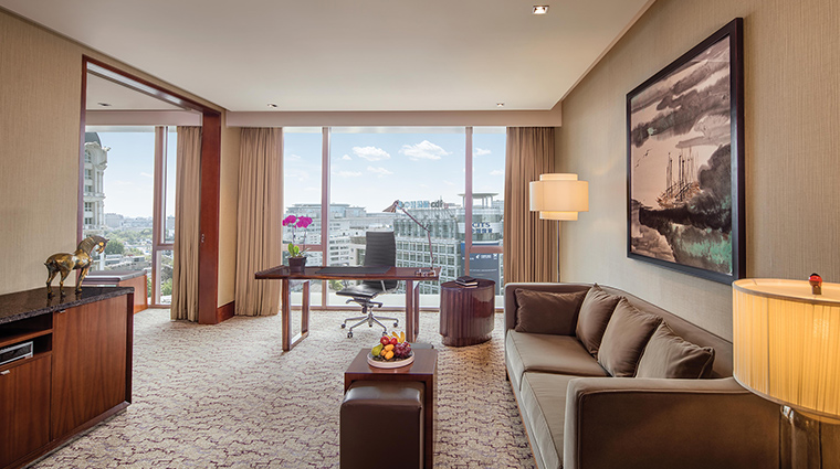 The Regent Beijing executive suite living room