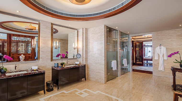 The Regent Beijing imperial bathroom bedroom