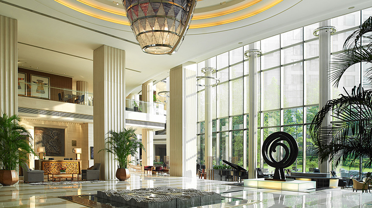 The Regent Beijing lobby lounge