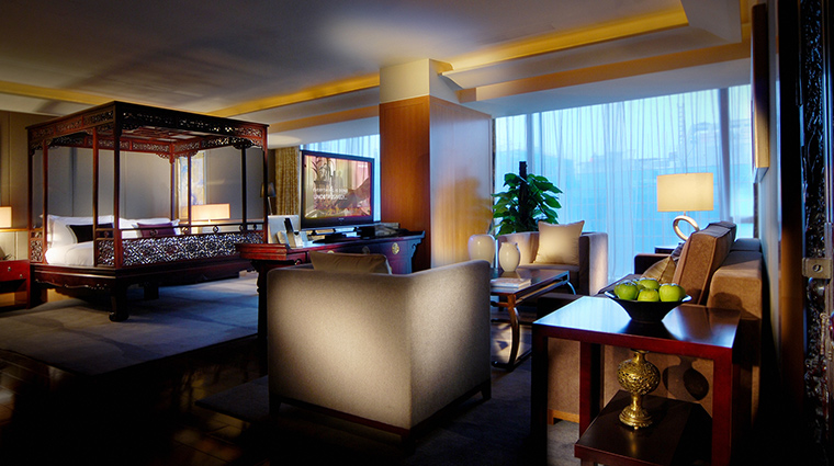 The Regent Beijing presidential bedroom