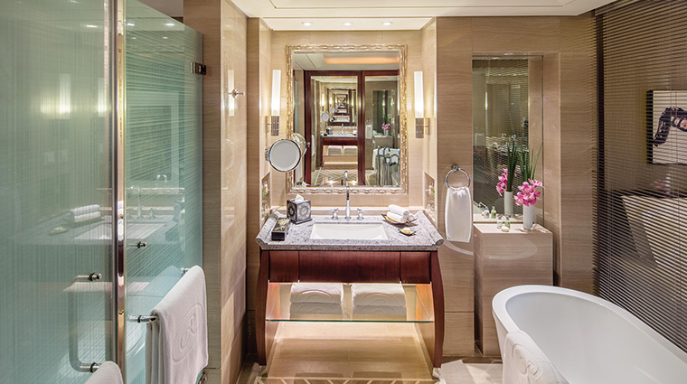 The Regent Beijing twin bathroom