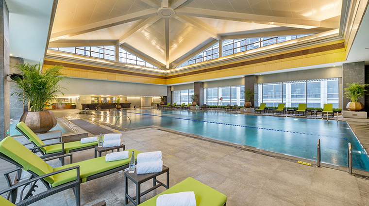 regent beijing new swimming pool
