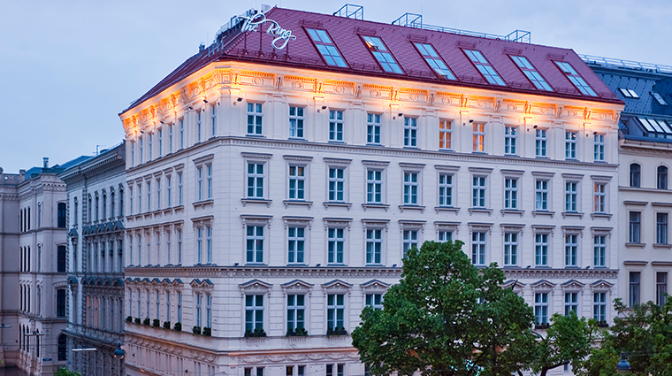 the ring hotel vienna exterior