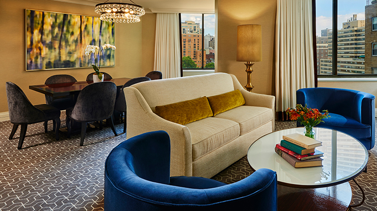 the rittenhouse hotel living room suite