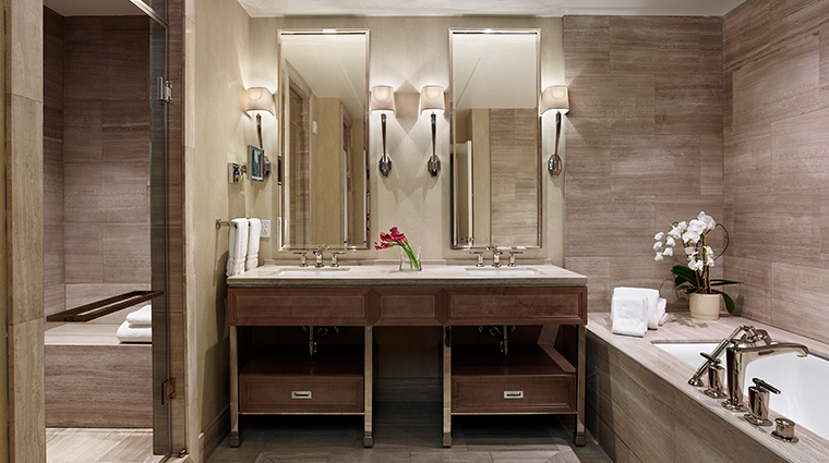 the rittenhouse hotel park suite bathroom
