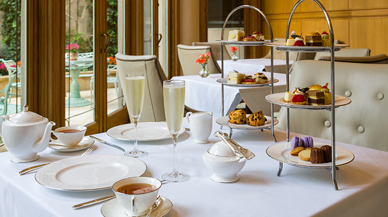 the rittenhouse hotel tea