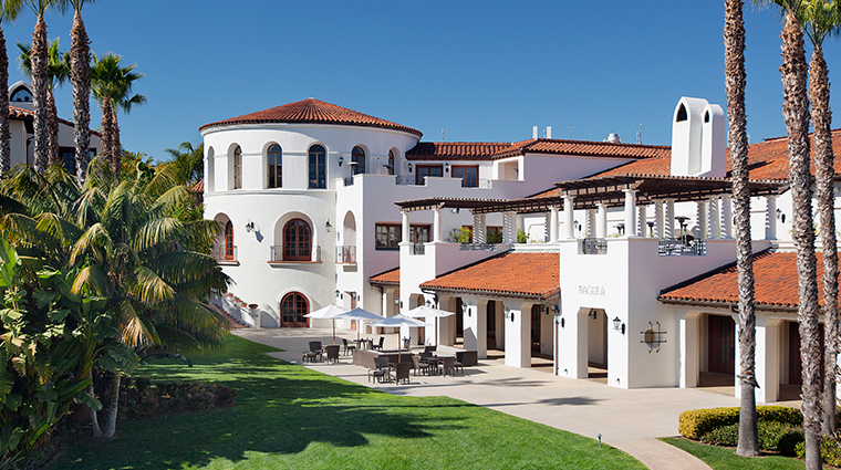 the ritz carlton bacara santa barbara exterior day