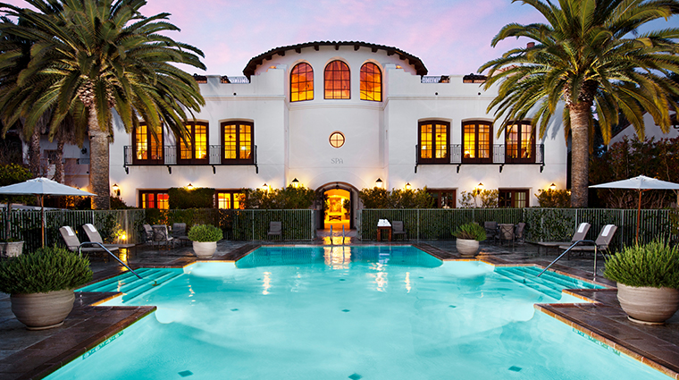 the ritz carlton bacara santa barbara spa exterior