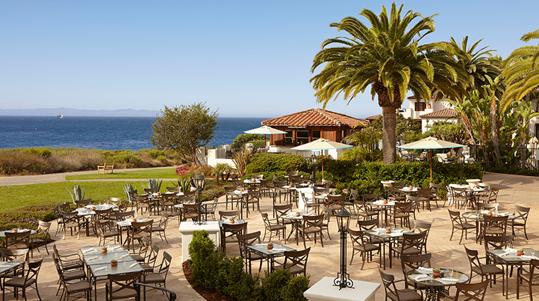 the ritz carlton bacara santa barbara the bistro patio