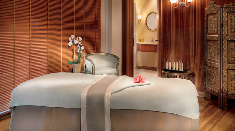 the ritz carlton bahrain spa treatment room