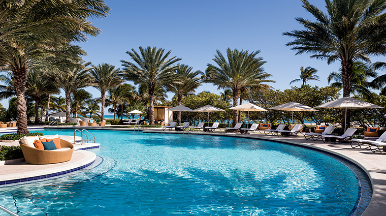 Ritz Carlton Bal Harbour pool