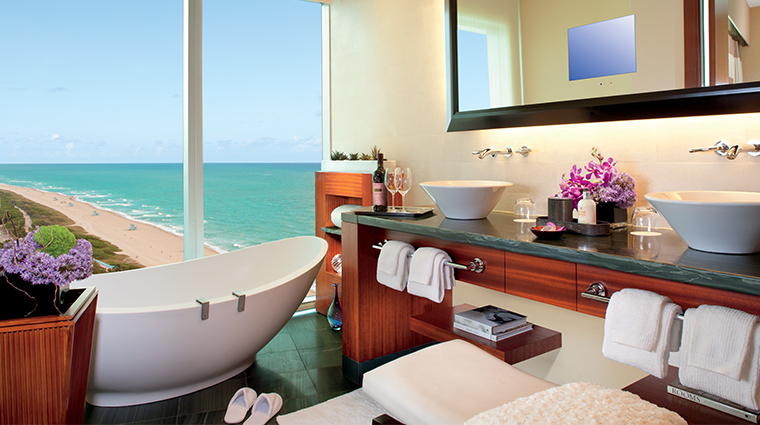 the ritz carlton bal harbour miami new bathroom