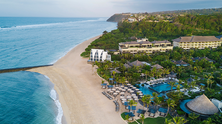 the ritz carlton bali aerial