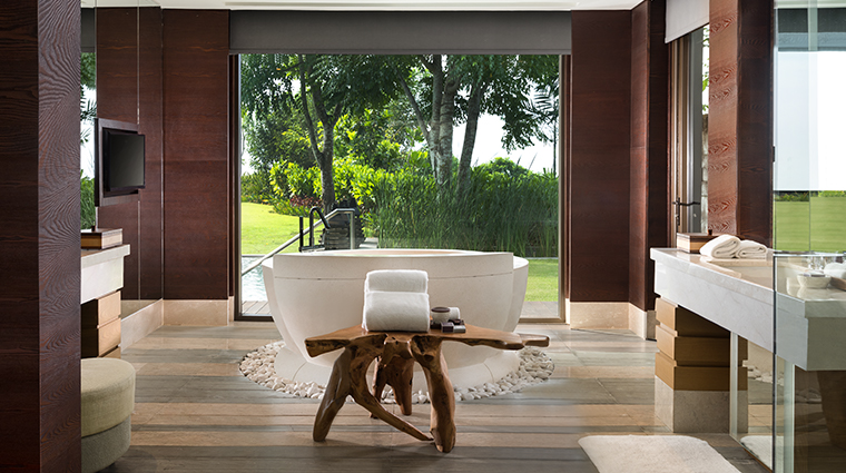 the ritz carlton bali cliff villa bathroom