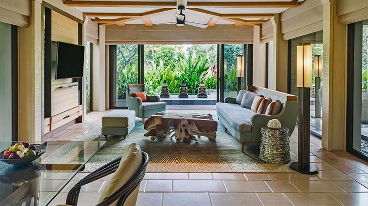 the ritz carlton bali cliff villa private pool