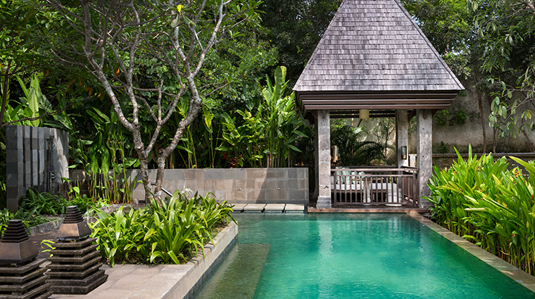 the ritz carlton bali garden villa pool
