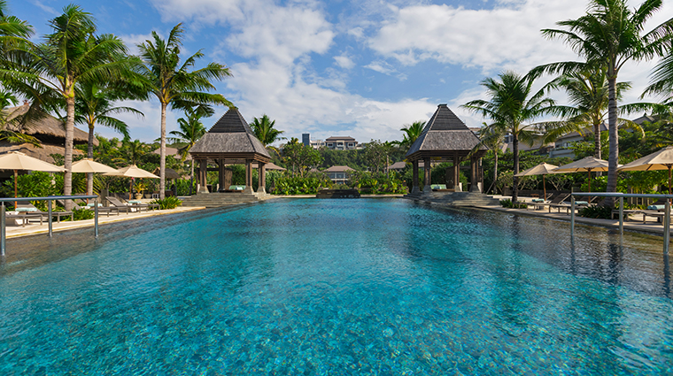 the ritz carlton bali pool view