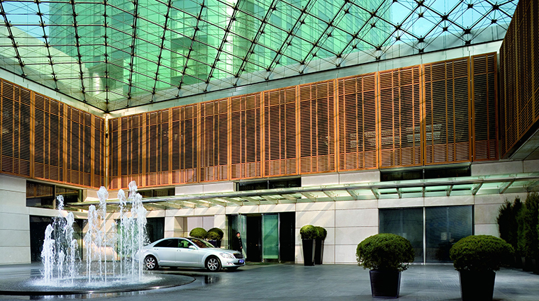 the ritz carlton beijing entrance