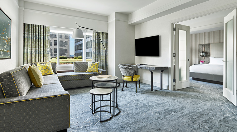 The Ritz Carlton Boston Executive Suite Living Room
