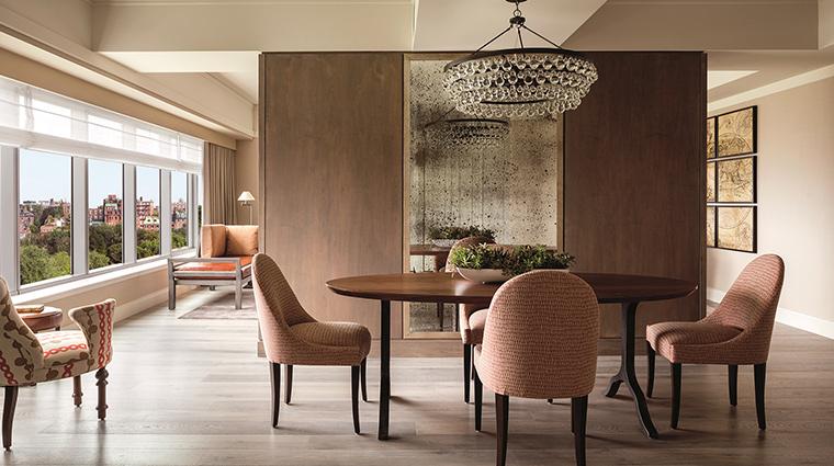 The Ritz Carlton Boston living room