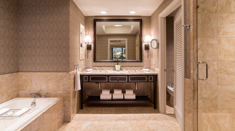 The Ritz Carlton Boston park view bathroom