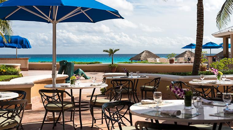 the ritz carlton cancun el cafe mexicano