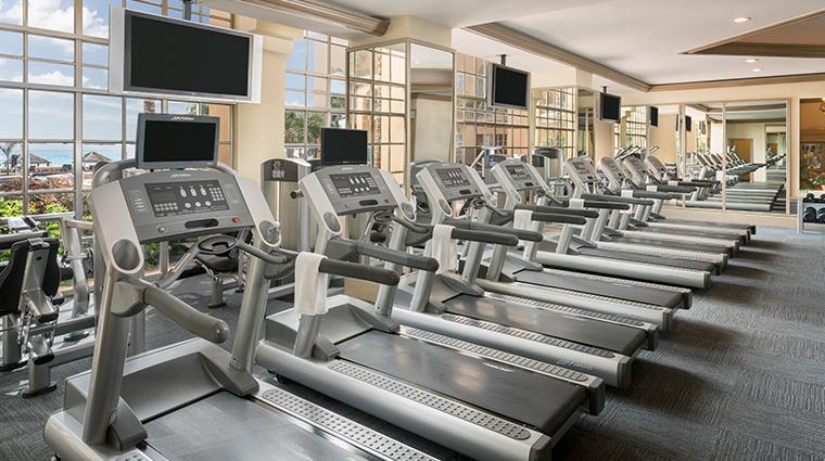 the ritz carlton cancun fitness center