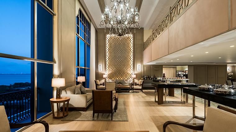 the ritz carlton cancun lounge