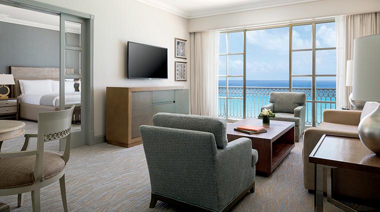 the ritz carlton cancun ocean front suite