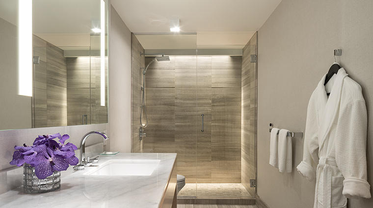 The Ritz Carlton Chicago executive suite bathroom