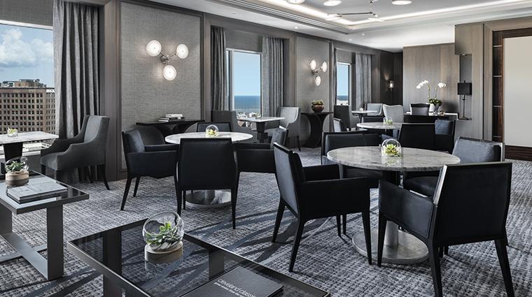 the ritz carlton cleveland club lounge