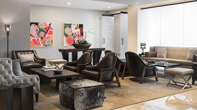 the ritz carlton cleveland core lounge