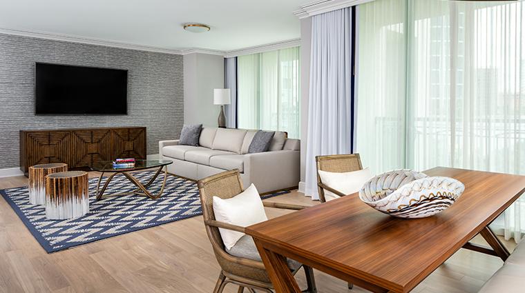 the ritz carlton coconut grove miami suite living room