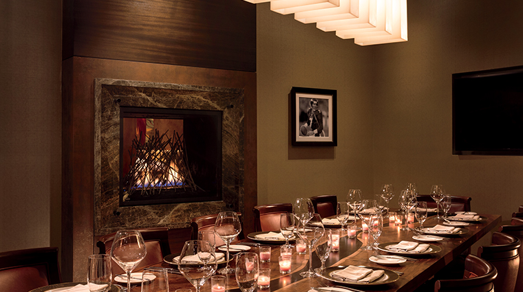 the ritz carlton denver Elways private dining