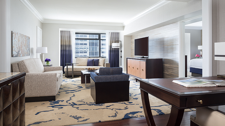 the ritz carlton denver deluxe suite parlor