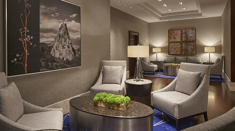 the ritz carlton denver lobby lounge