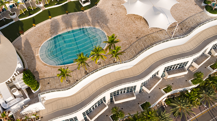 the ritz carlton fort lauderdale aerial pool
