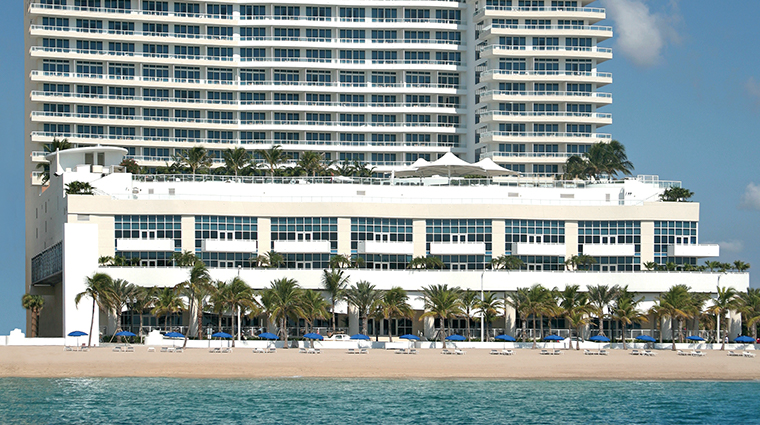 the ritz carlton fort lauderdale exterior
