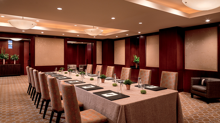 the ritz carlton georgetown washington dc brickyard executive meeting room