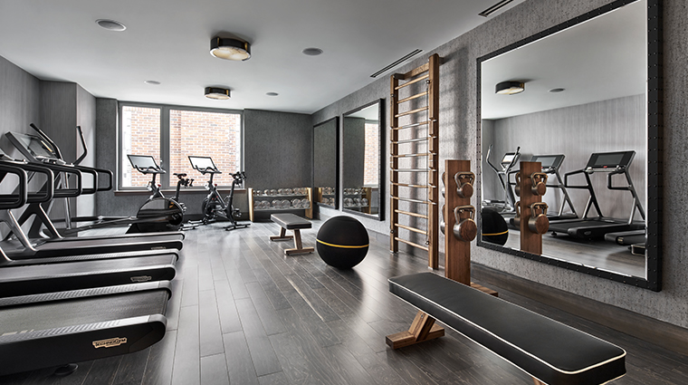 the ritz carlton georgetown washington dc fitness center