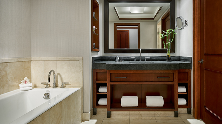 the ritz carlton georgetown washington dc premier and deluxe bathroom