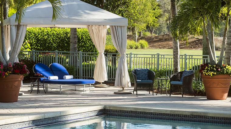 the ritz carlton golf resort naples pool cabana