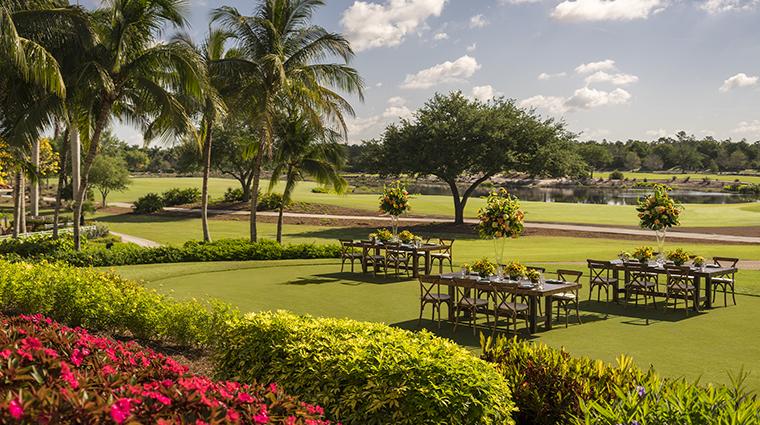the ritz carlton golf resort naples putting green dinner