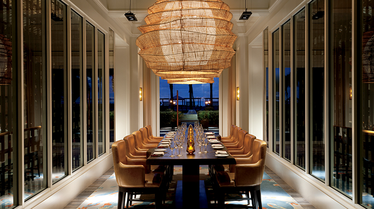the ritz carlton grand cayman Seven dining room