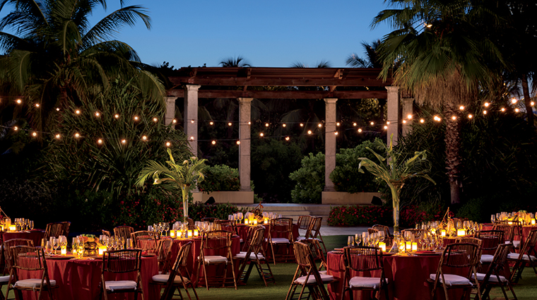 the ritz carlton grand cayman outdoor event