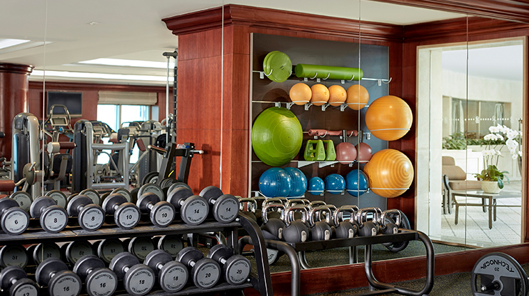 the ritz carlton guangzhou fitness center
